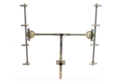 Barra «en T» 44 pulverizadores regulables