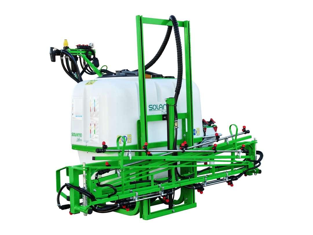 Barras manuales de pulverización