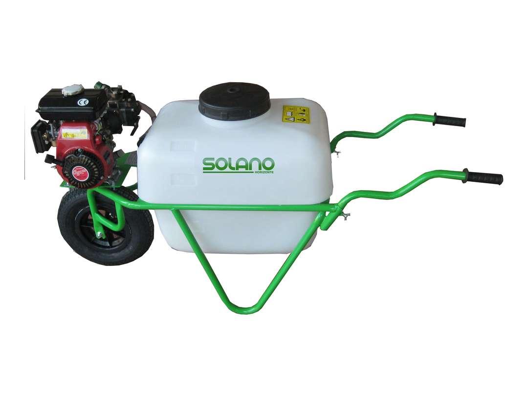 Carretilla pulverizadora 1 rueda