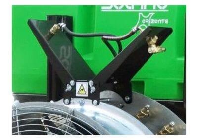 Deflector «en V» para grupos de aire modelos Levante y Solano