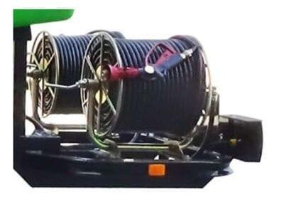 Enrollador de manguera con soporte LV