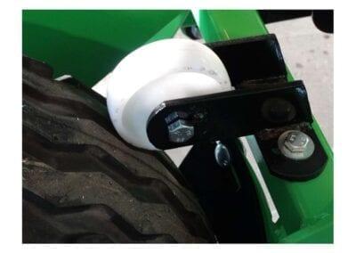 Freno de rueda sembradora neumática