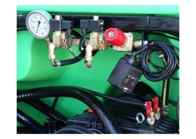 Mando eléctrico 2 vías con descarga para nebulizador
