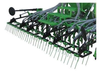 Rastrilla muelles en tres tramos en un tramo para modelos de 3 m