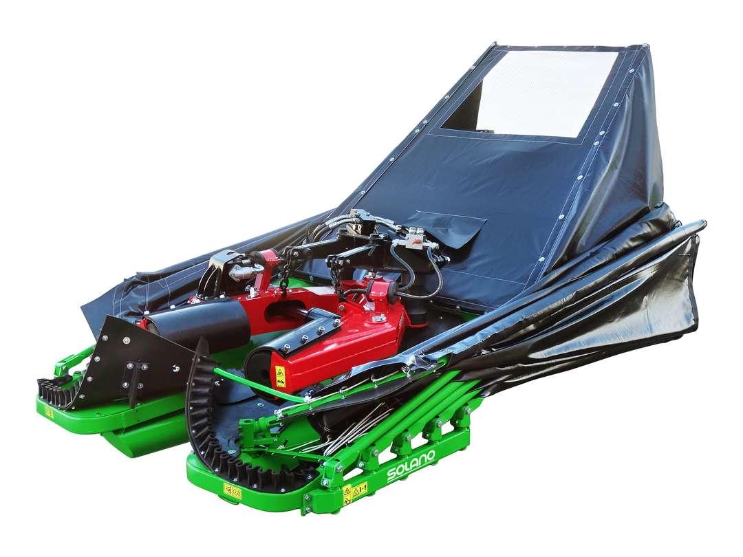 Recolector mixto con paraguas y cajón traseros Serie 65