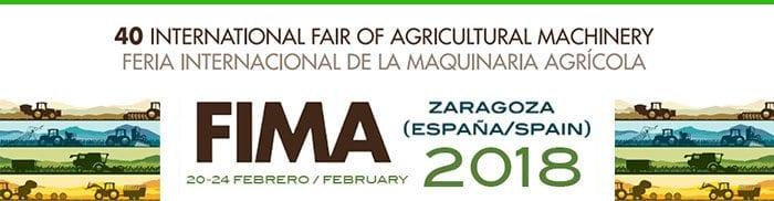 Salon international des machines agricoles FIMA 2018