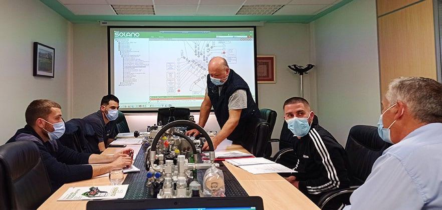 Formation Récolteuse Solano Horizonte pour concessionnaires