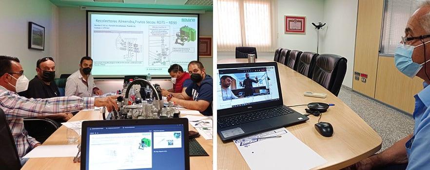 Formation 2021 Récolteuse Solano Horizonte pour concessionnaires