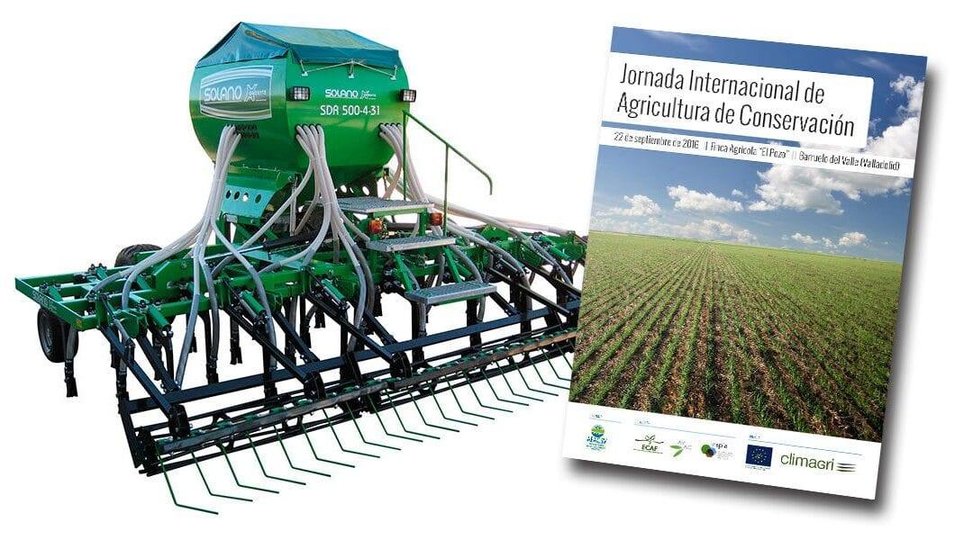Solano Horizonte à la «Jornada Internacional de Agricultura de Conservación»